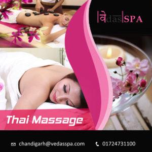 Thai Massage in Chandigarh-Vedas Spa